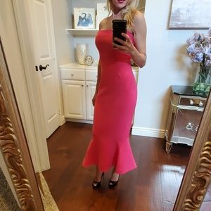 Cinq a Sept fuchsia Luna dress